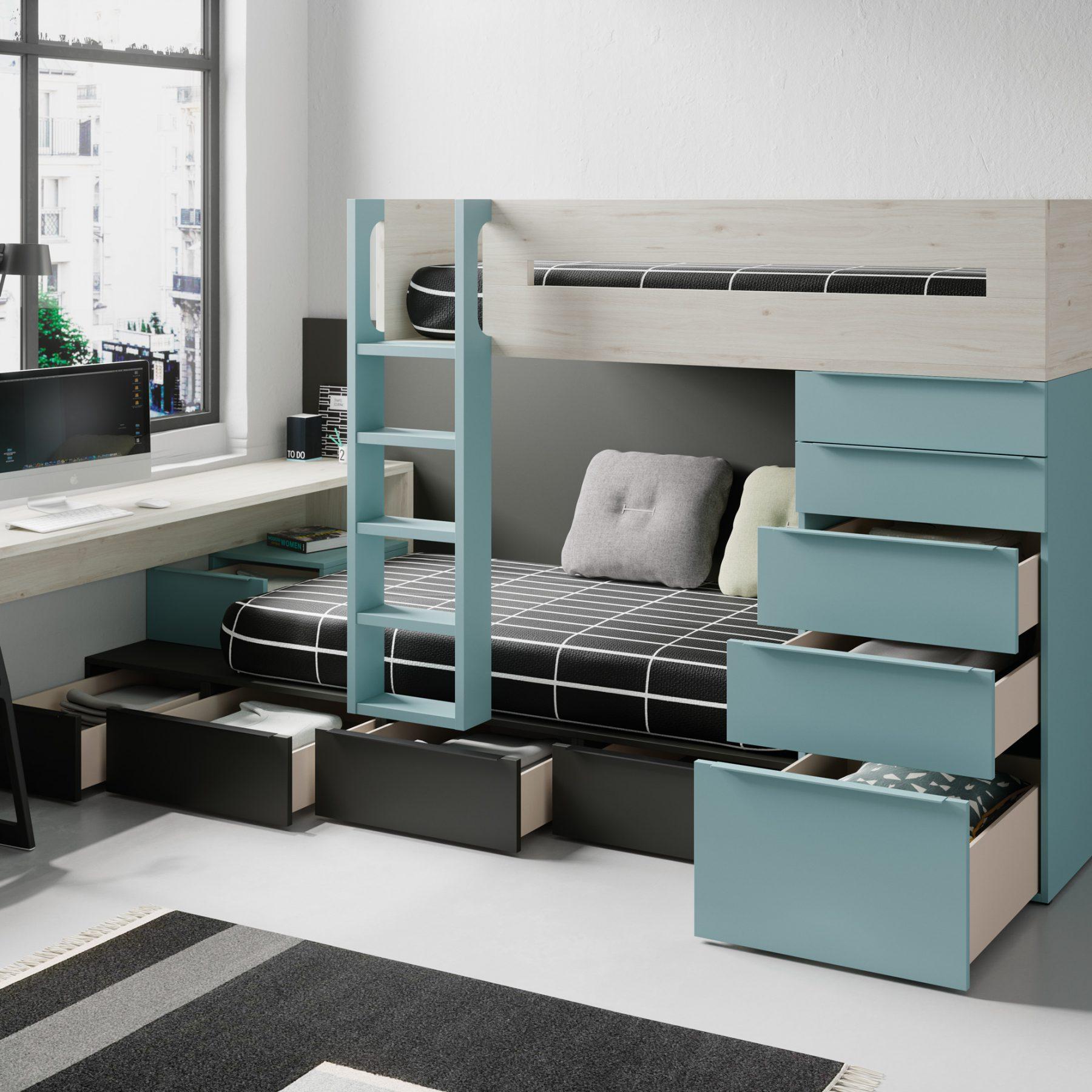dormitorio juveniles e infantiles en zaragoza
