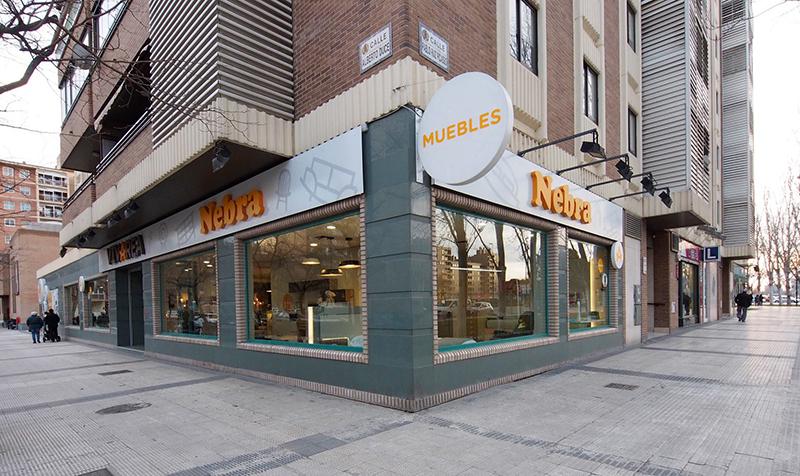 Tiendas muebles en Zaragoza | MUEBLES Nebra