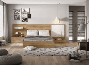 dormitorio de matrimonio moderno en zaragoza