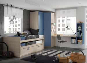 Dormitorios Juveniles LAN MOBEL | VIVAREA Nebra | Tiendas de muebles en Zaragoza
