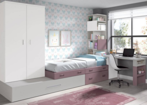 Nuevos Dormitorios Juveniles en Zaragoza | Muebles Nebra VIVAREA