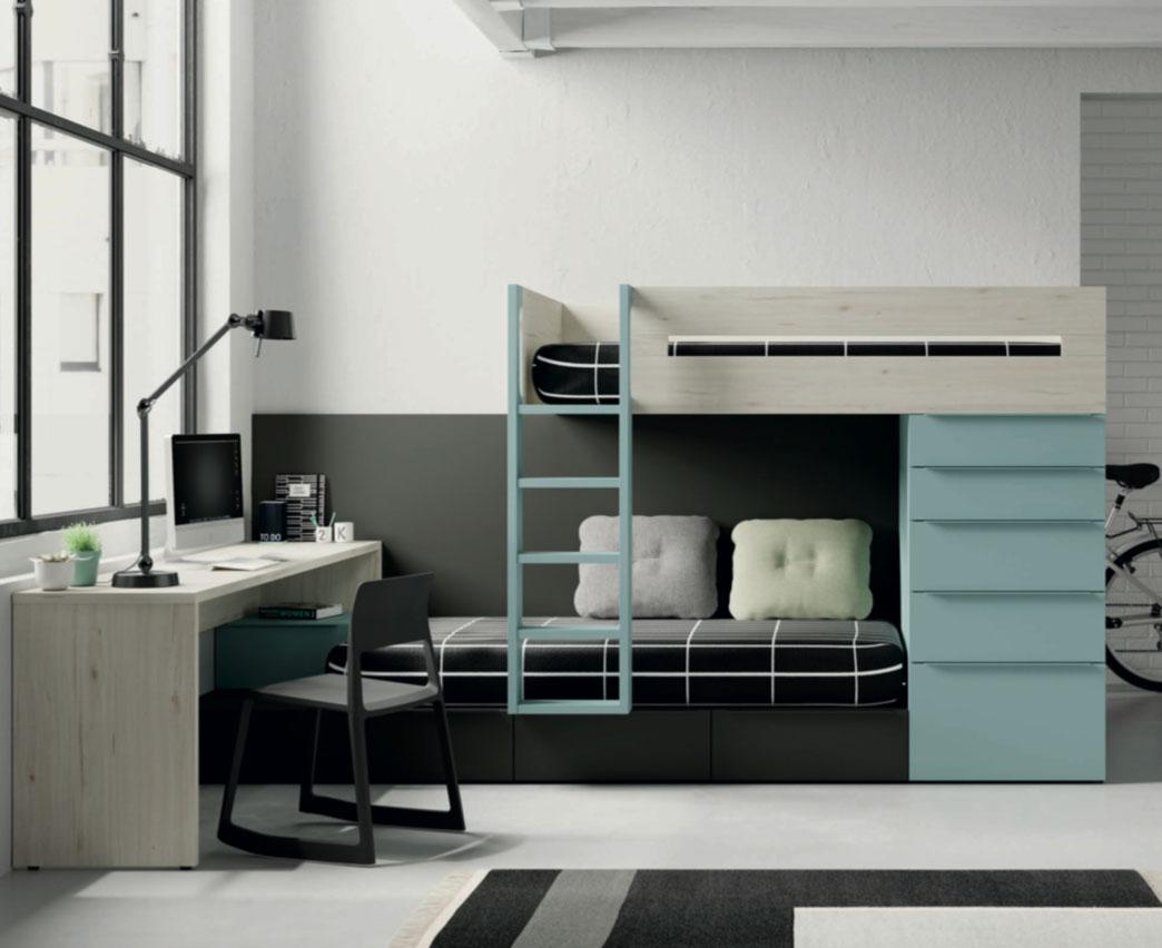 Dormitorios Juveniles Diseño Zaragoza   Muebles Nebra VIVAREA